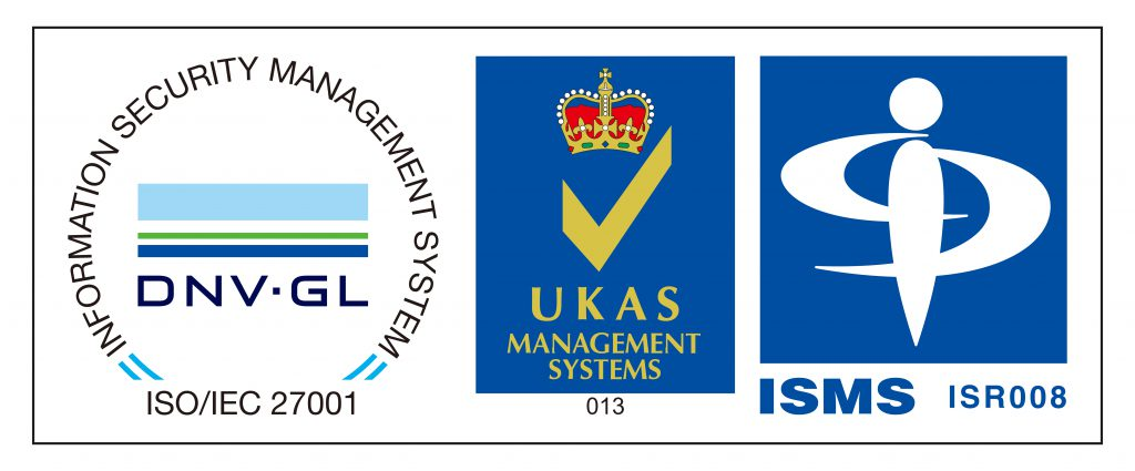 ISMS「ISO/IEC 27001:2013」「JIS Q 27001:2014」の認証取得