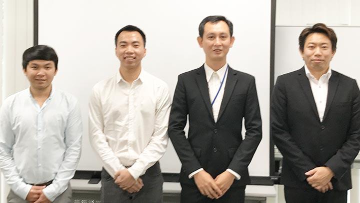 アジアIT人材交流促進事業ベトナムの方との仕事2